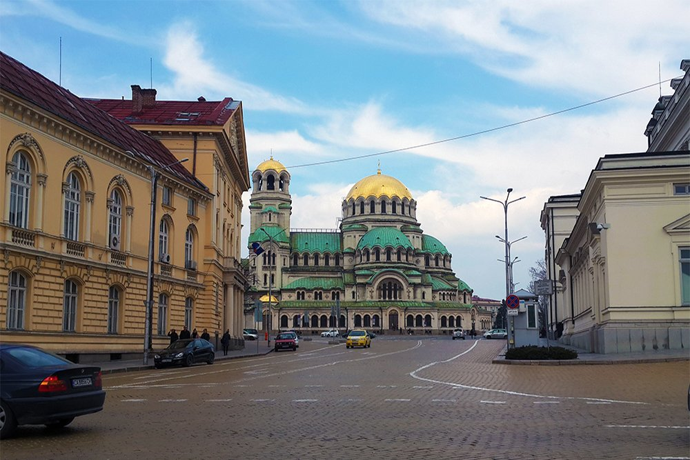1 Day in Sofia Walking Itinerary | Alexander Nevsky Cathedral in Sofia