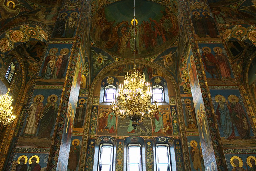 The Church of the Savior on the Spilled Blood: interior | 7 Places to See on Your First Time in St. Petersburg