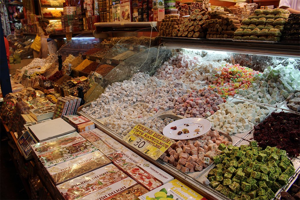 Delights at bazaar | 10 Things You Should Avoid Doing in Istanbul