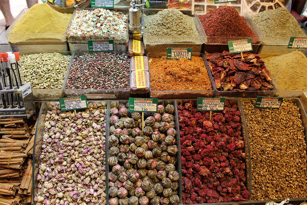 Egyptian Bazaar | 20+ Places to See in Istanbul