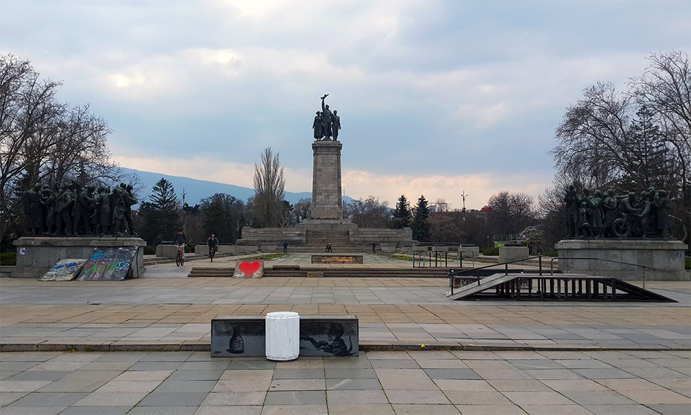 1 Day in Sofia Walking Itinerary | Monument of the Soviet Army in Sofia