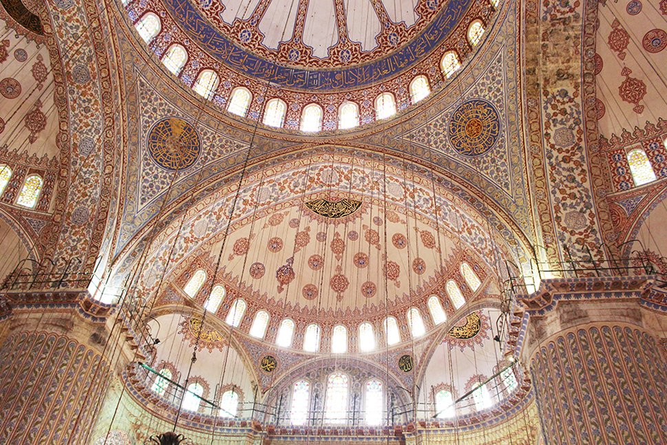 What to See in Sultanahmet Square, Istanbul | The Blue Mosque: Interior