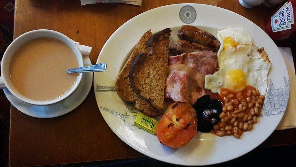 English Breakfast   1 Day in London Walking Itinerary