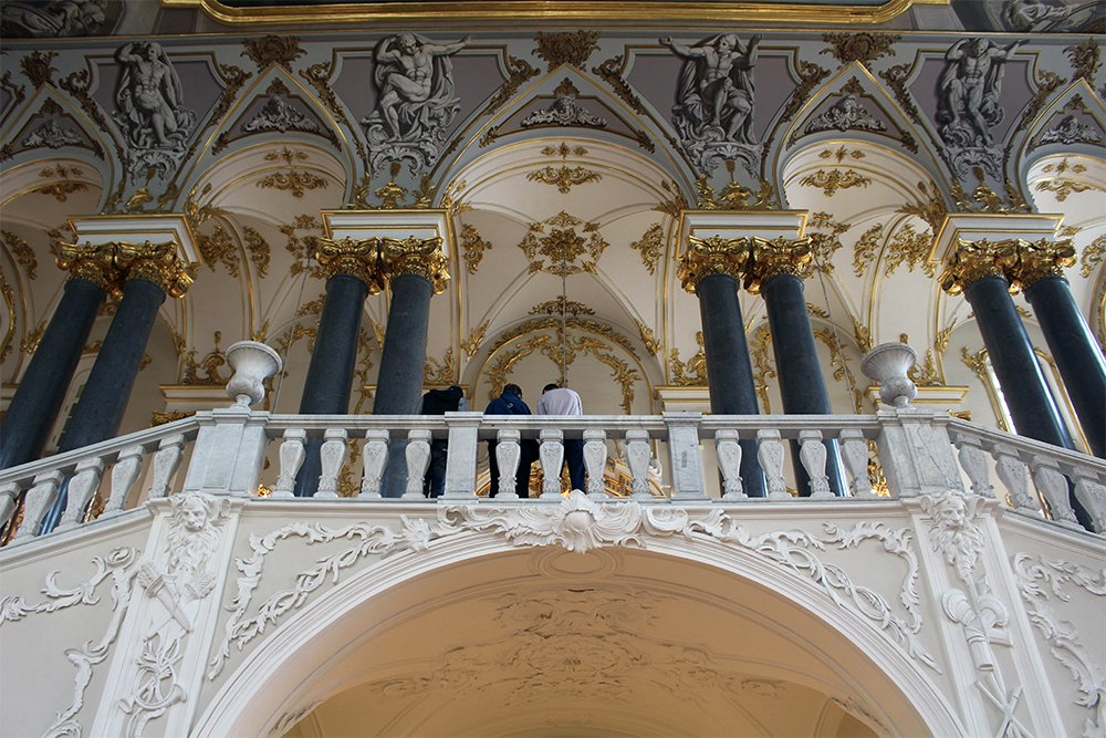The Hermitage: the Jordan Staircase | 7 Places to See on Your First Time in St. Petersburg