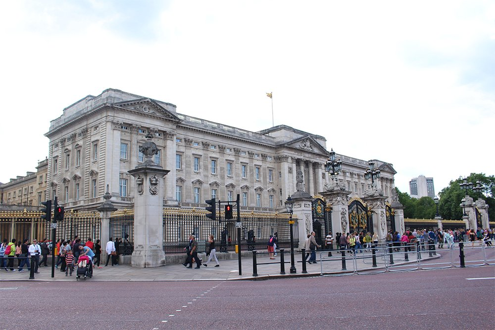 The Buckingham Palace   1 Day in London Walking Itinerary