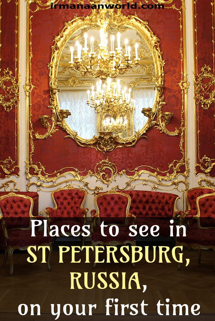 What to see in St. Petersburg for first timers | Places to see in St Petersburg, Russia | Things to do in St Petersburg, Russia