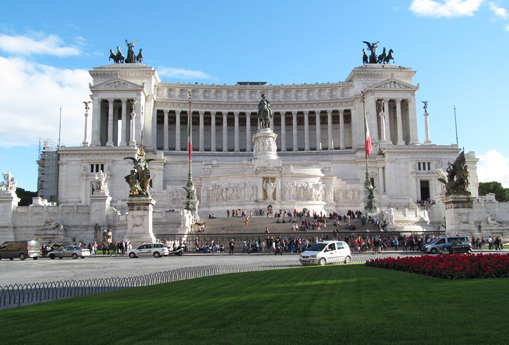 1 Day in Rome Walking Itinerary | Altare della Patria