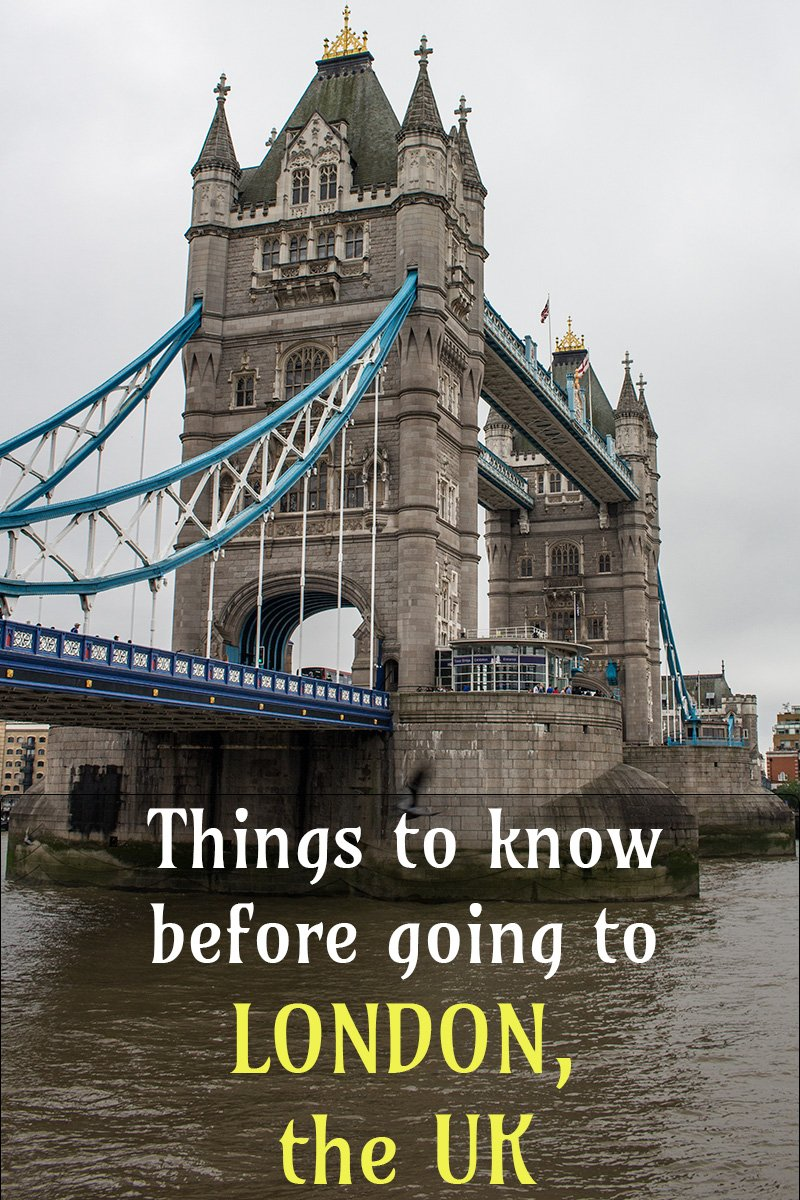 Things to know before travelling to London, the UK | Travel tips for London, the UK | What to know before going to London, the UK