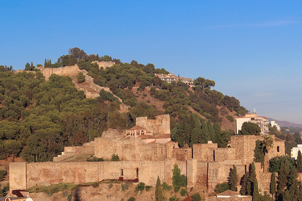 3 Weeks of Solo Travel in Spain, Part 4: 2 Days in Malaga | Alcazaba and Gibralfaro