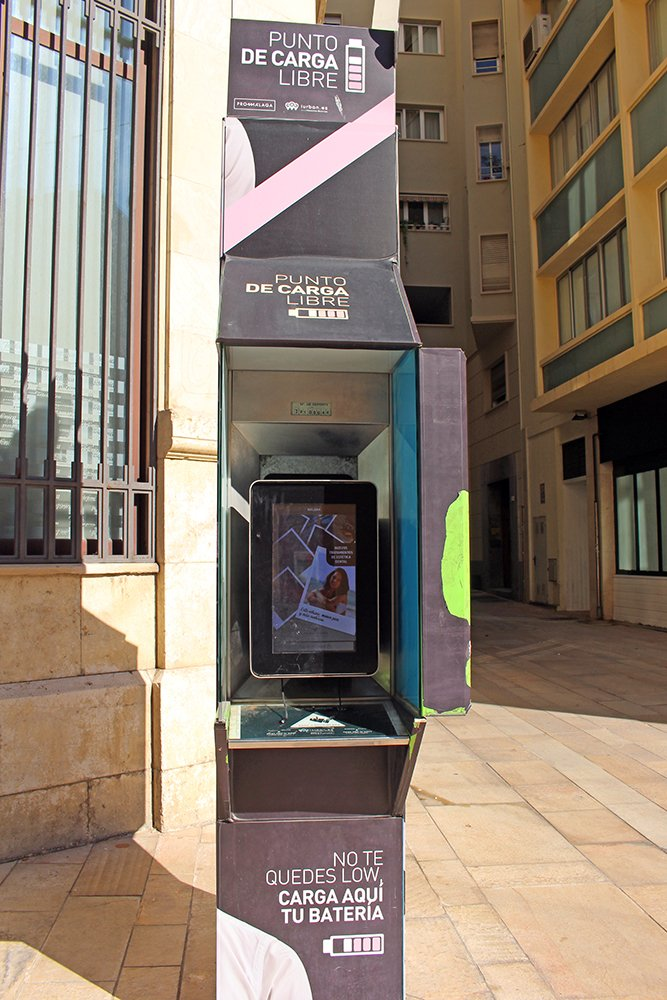 3 Weeks of Solo Travel in Spain, Part 4: 2 Days in Malaga | Charging point