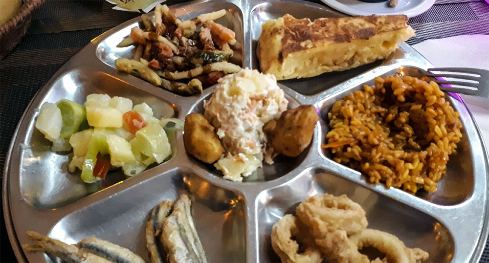 3 Weeks of Solo Travel in Spain, Part 4: 2 Days in Malaga | Tapas at La Dehesa
