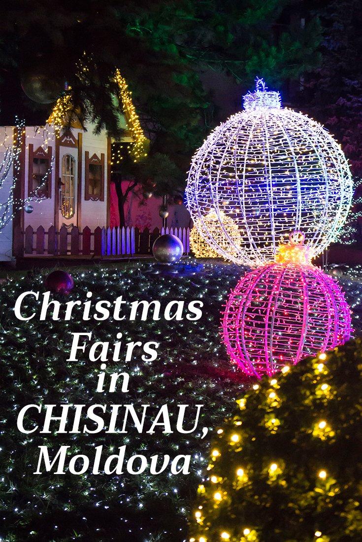Christmas Fair in Chisinau, Moldova | Christmas around Europe