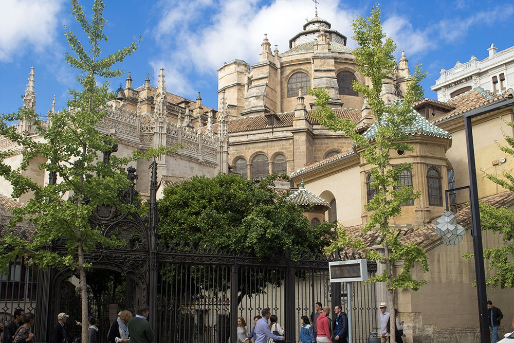 3 Weeks of Solo Travel in Spain, Part 3: things to do in Granada | Cathedral of Granada