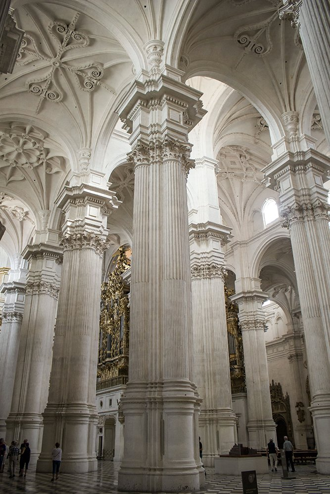3 Weeks of Solo Travel in Spain, Part 3: things to do in Granada   Inside the Cathedral