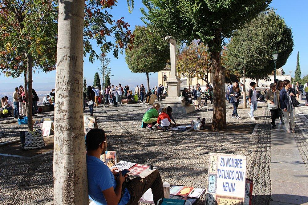 3 Weeks of Solo Travel in Spain, Part 3: things to do in Granada | Mirador San Nicolás