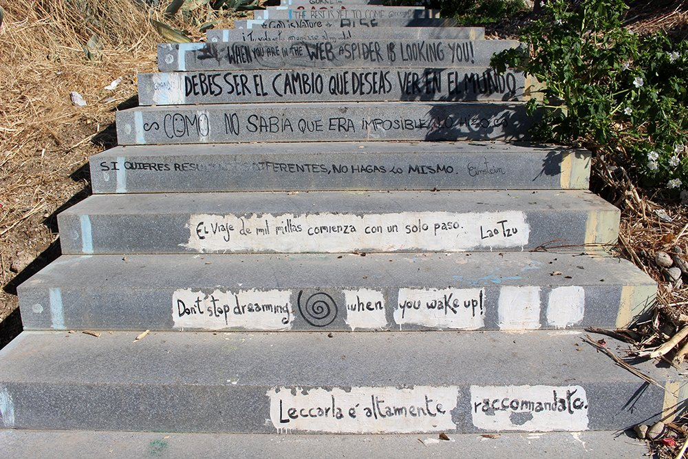 3 Weeks of Solo Travel in Spain, Part 3: things to do in Granada   Motivational steps to the Ermita de San Miguel