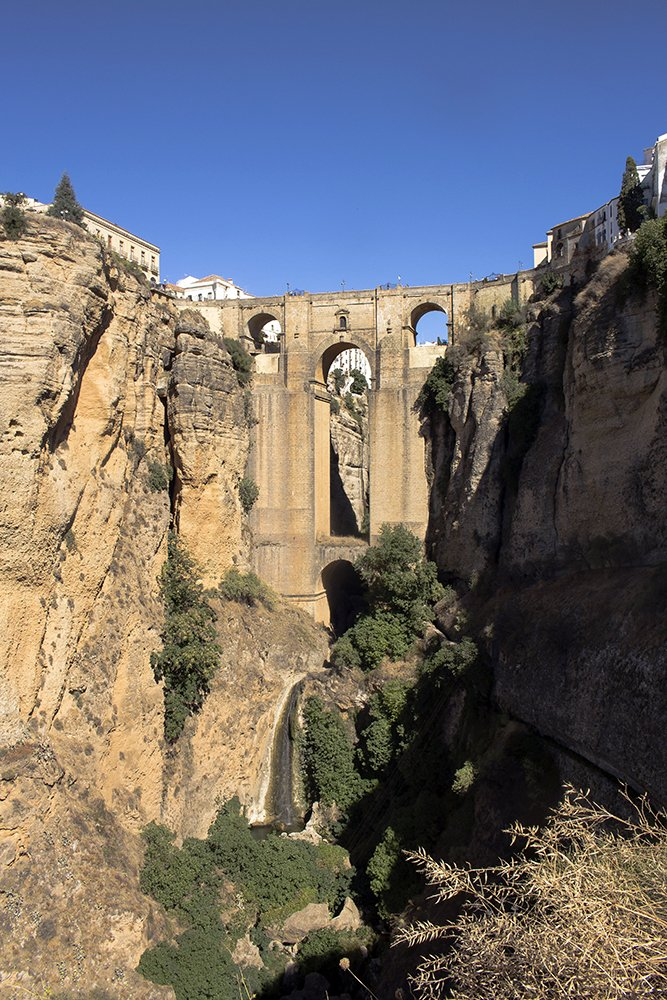 3 weeks of solo travel in Spain, Part 5: 1 day trip to Ronda | Puente Nuevo