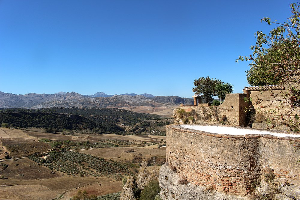 3 weeks of solo travel in Spain, Part 5: 1 day trip to Ronda | View from the Mondragon Palace
