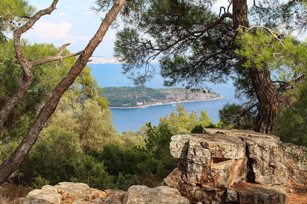 Один день на Бююкада, Принцевы острова, Стамбул   Вид с холма