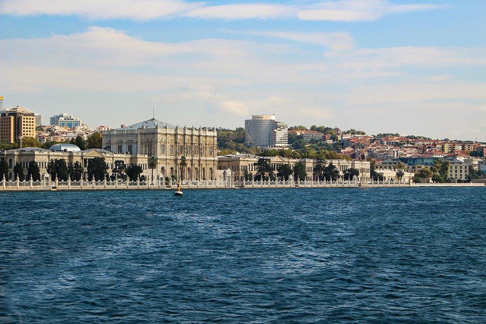 Один день на Бююкада, Принцевы острова, Стамбул   Долмабахче с парома