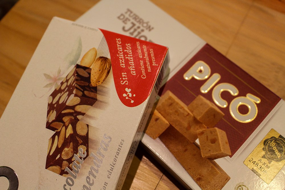 3 Weeks of Solo Travel in Spain: 4 days in Madrid | Boxes with turron