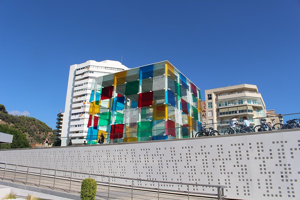 3 Weeks of Solo Travel in Spain: What to do in Malaga | Centre Pompidou