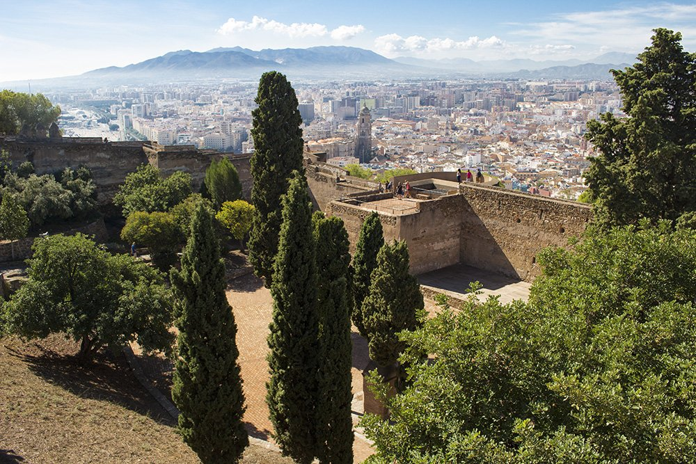 3 Weeks of Solo Travel in Spain: What to do in Malaga | The Gibralfaro
