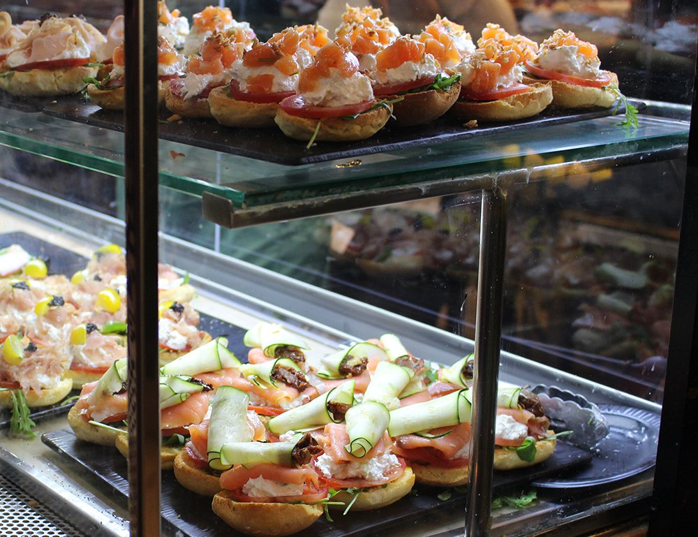 3 Weeks of Solo Travel in Spain: 4 days in Madrid | Open sandwiches in Mercado de San Miguel