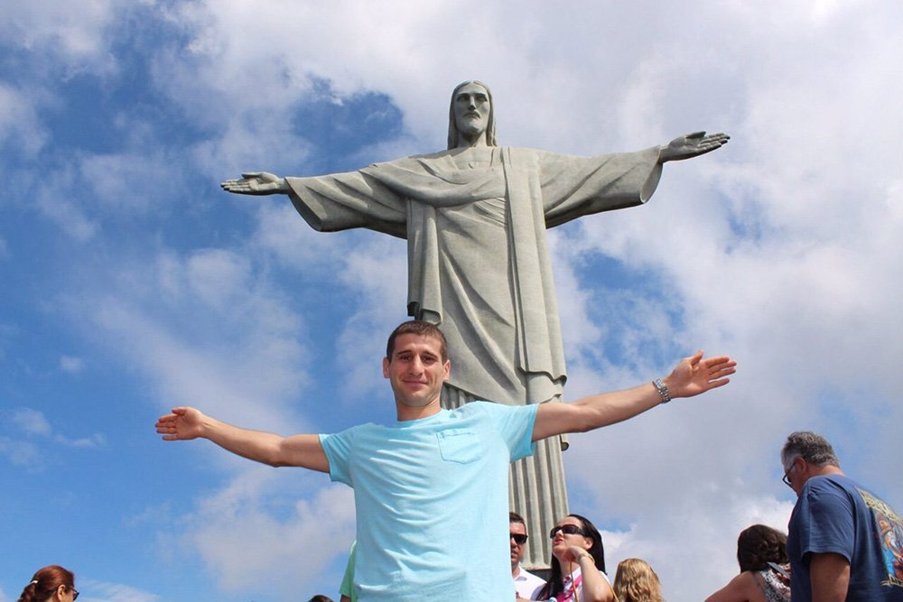 Interview with a flight attendant   In Rio de Janeiro