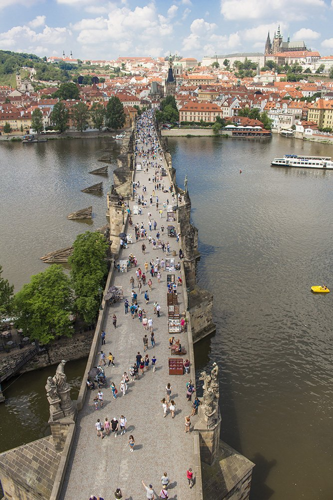 First Timer's Guide: Travel Tips for Prague | Charles Bridge in Prague