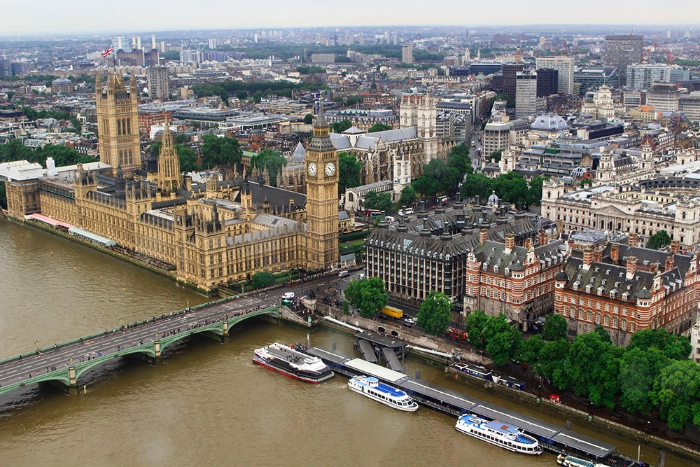Cool things to do in London | View of London from London Eye