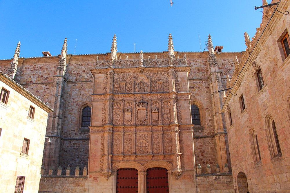 3 weeks in Spain itinerary   Escuelas Mayores of Salamanca University