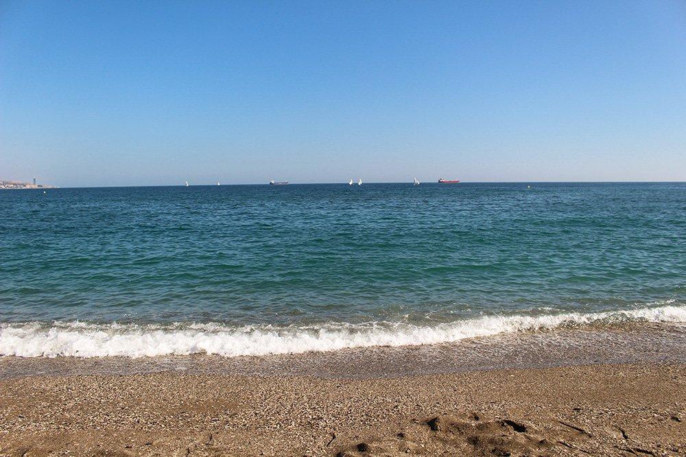 3 weeks in Spain itinerary   La Malagueta beach