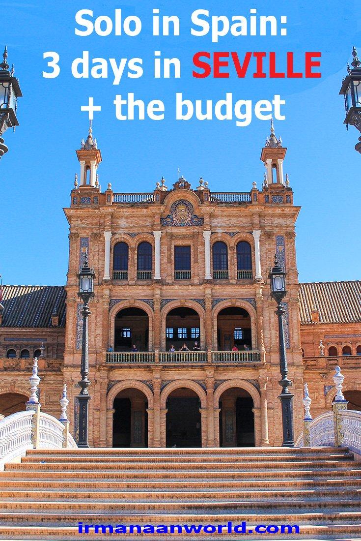 3 days in Seville, Spain | Seville city break, Spain | A guide to Seville, Spain | 3 day itinerary Seville, Spain