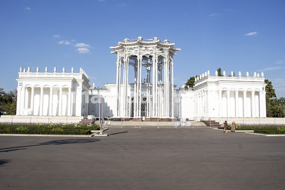 Moscow pictures: stunning photos of Moscow   Pavilion 66 Culture in VDNKh