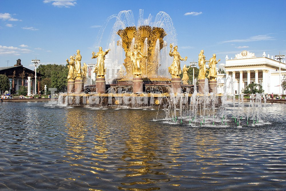 Moscow pictures: stunning photos of Moscow   Fountain in VDNKh