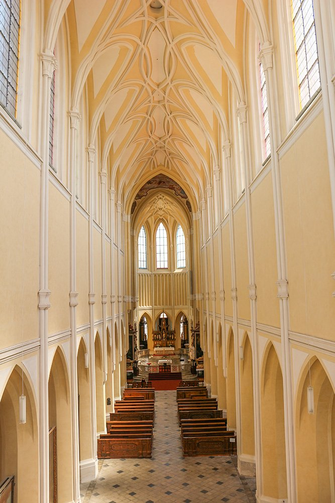 Kutna Hora on a day trip from Prague: things to do | Inside the Cathedral of Our Lady