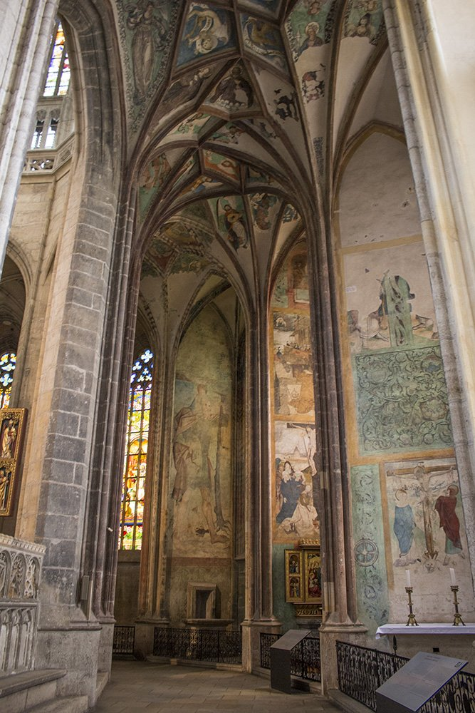 Kutna Hora on a day trip from Prague: things to do | Inside the Church of St Barbara