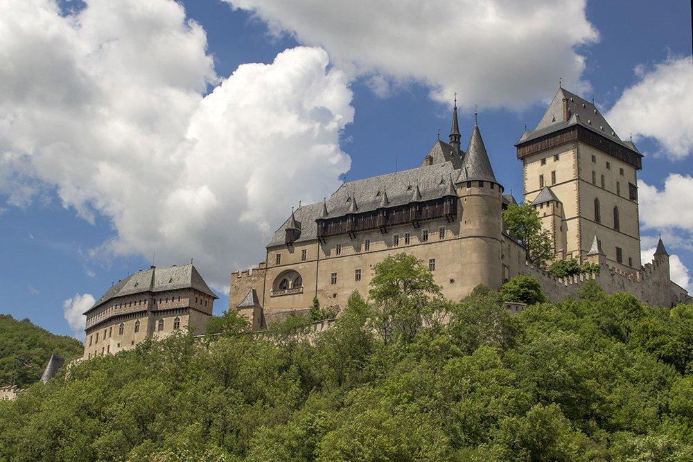 From Prague to Karlstejn Castle, Czech Republic   Karlstejn Castle