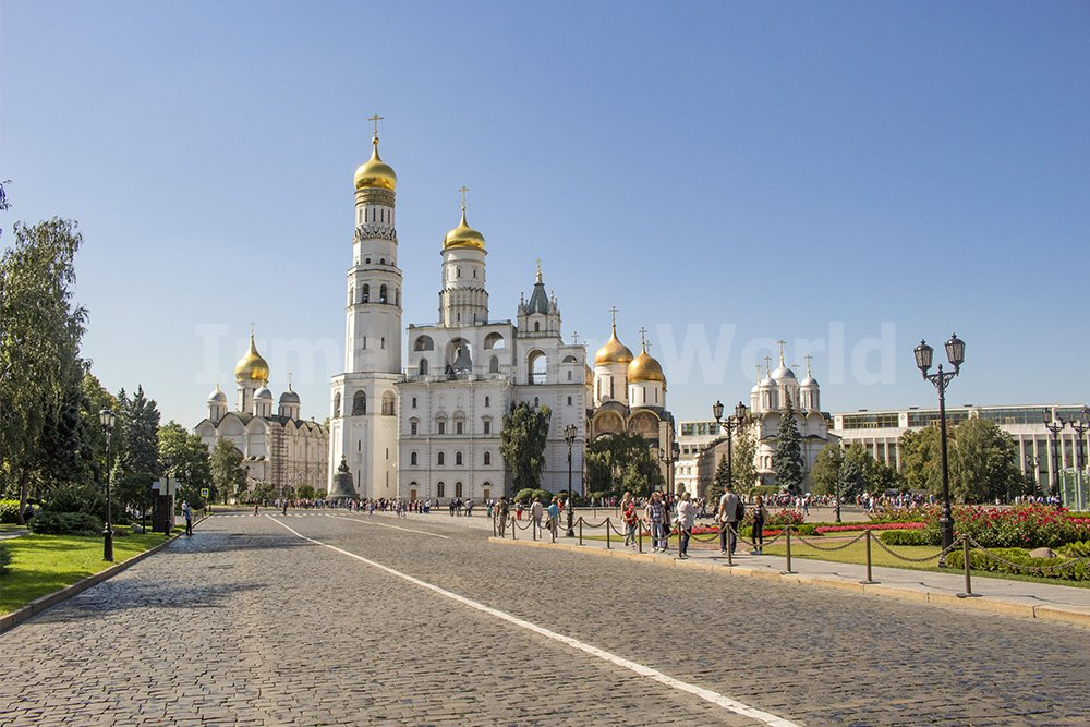Moscow pictures: stunning photos of Moscow | The churches of the Cathedral Square in Moscow
