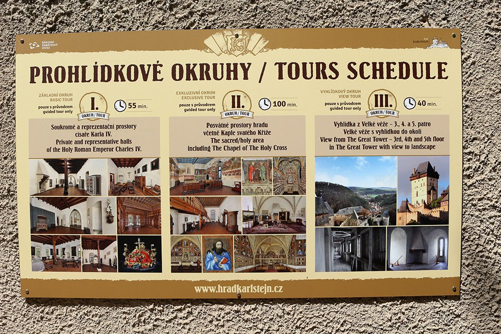 From Prague to Karlstejn Castle, Czech Republic   All available tours in Karlstejn Castle