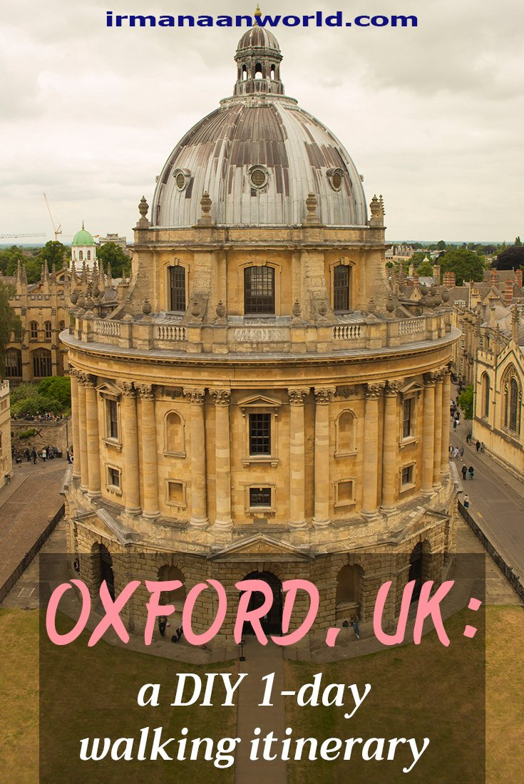 1 day Walking Itinerary in Oxford, UK | What to see in Oxford in 1 day | Things to do in 1 day in Oxford, UK | How to spend 1 day in Oxford, UK