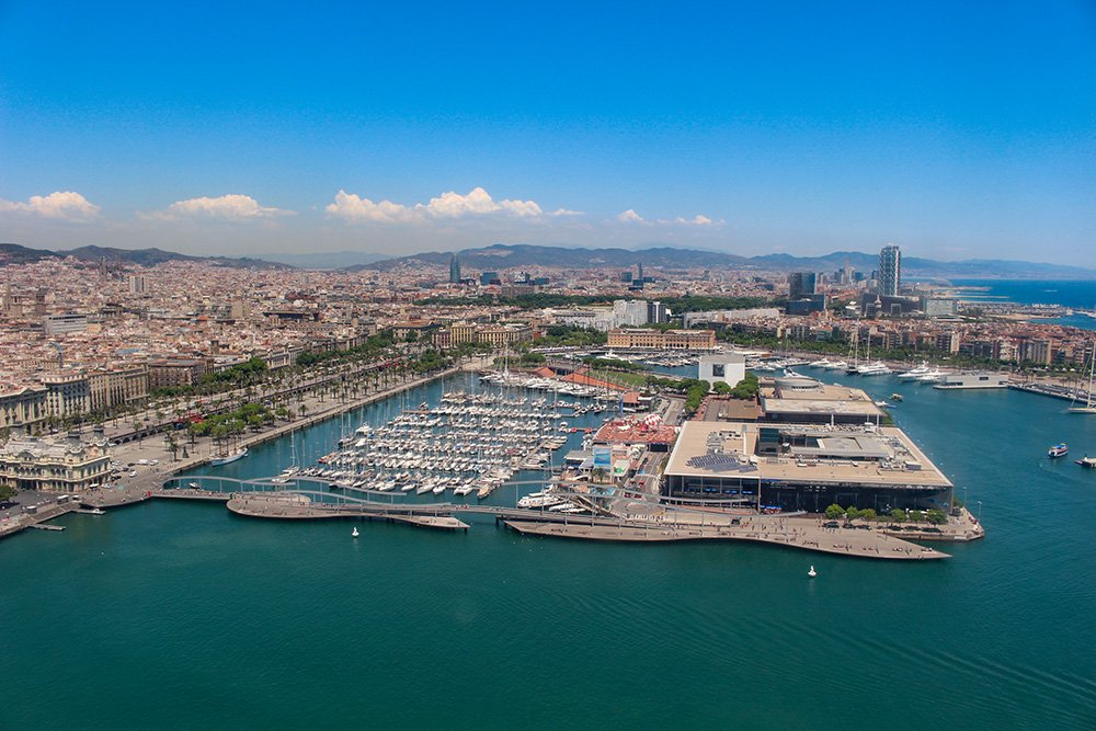 What to See in Barcelona in One Day | View of Barcelona from Aeri del Port