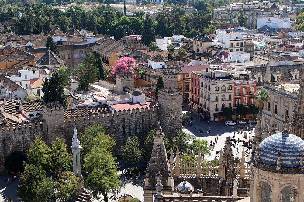 Главные и самые красивые достопримечательности Севильи | Вид с башни Хиральда