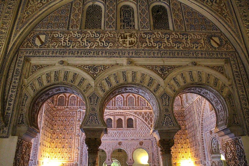 Главные и самые красивые достопримечательности Севильи | Внутри Севильского Алькасара