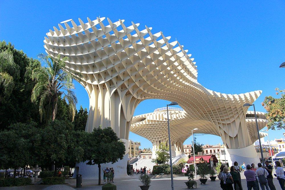 Главные и самые красивые достопримечательности Севильи | Метрополь Парасоль