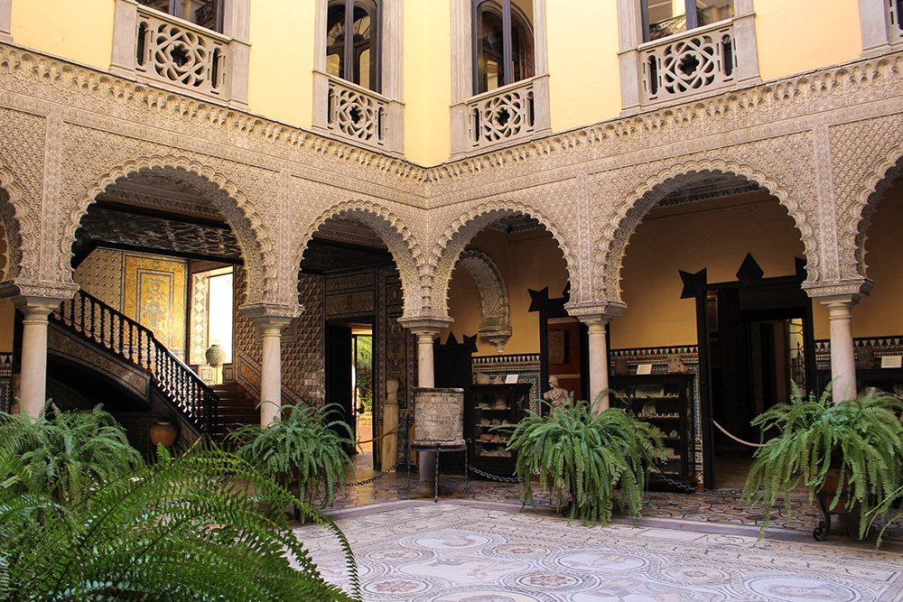 A 2-weeks DIY tour: Andalusia itinerary by bus | Lebrija Palace in Seville