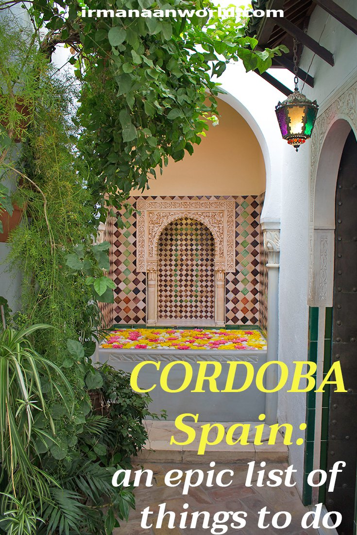 Solo travel in Spain: things to do in Cordoba | Places to see in Cordoba, Spain | What to see in Cordoba, Spain | Places to visit in Cordoba, Spain | Tourist attractions in Cordoba, Spain