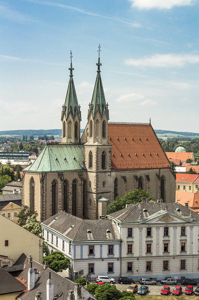 Czech Republic: Visiting Kromeriz Castle and Gardens from Brno | St Moritz Church