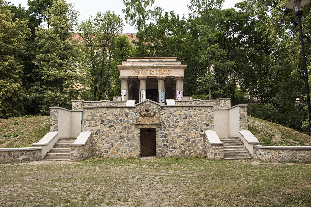 Things to do in Olomouc, Czech Republic, in half a day | the Mausoleum of Yugoslav Soldiers